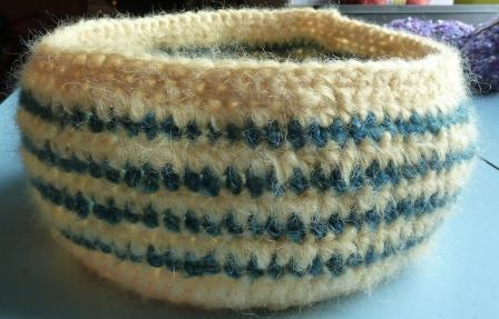 Felted Crochet Bowls Tess Young Designs Makes